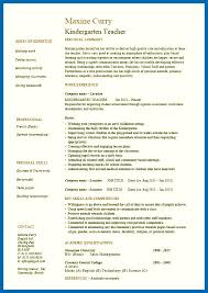 resume exles for teachers resume template for teachers embersky me