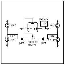 5 pin led flasher wiring diagram led electronic flasher wiring