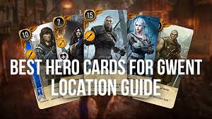 best gwent cards locations guide the witcher 3