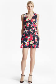 bella lula floral mini dress dresses french connection canada