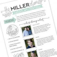 free family newsletter template printable wouldn u0027t this be
