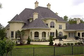 house plans with rear view luxury house plan european home plan 134 1326