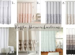 Sheer Ruffled Curtains White Ruffled Curtains Eulanguages Net