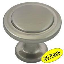 cosmas satin nickel cabinet hardware cosmas 5560sn satin nickel cabinet hardware round knob 1 1 4