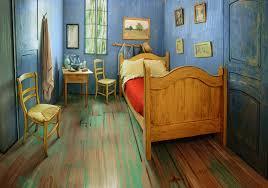 how van gogh u0027s bedroom was rebuilt as a living masterpiece creators