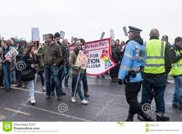 anti ukip protesters march on ukip conference margate editorial