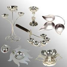 silver pooja articles manufacturer from mumbai