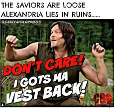 Daryl Dixon Memes - savage memes from the walking dead midseason finale