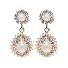 Diamond Chandeliers Bridal Chandelier Earrings Australia Musethecollective