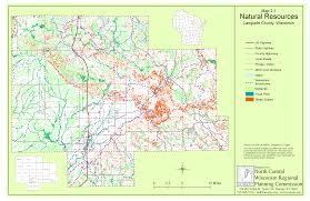 Wisconsin County Maps by Langlade County Comprehensive Planning