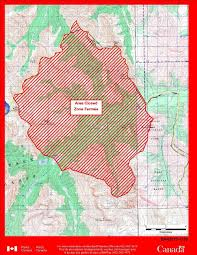 Wildfire Alberta Map by Lightning Causes Wildfire In Banff National Park Backcountry