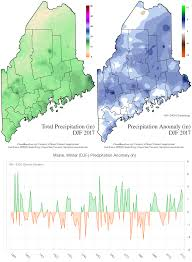 North America Precipitation Map by The University Of Maine Maine Climate News Winter And Spring