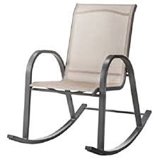 Patio Rocking Chair Room Essentialstm Nicollet Sling Patio Rocking Chair