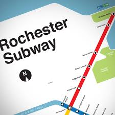 New York Map Rochester by The Rochester Subway Map Reconnect Rochester