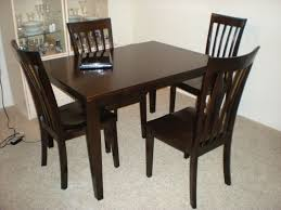 Creative Wooden Dining Table Delightful Ideas Dark Wood Dining Table Creative Idea Round Dark