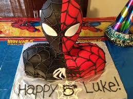 spiderman venom birthday cake cakecentral com