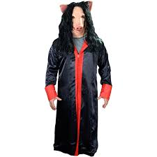 nwa halloween costume saw jigsaw robe costume rockabilia