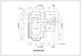 floor plan and elevation of unique trendy house kerala home