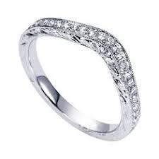 wedding ban leigh nacht inc contoured diamond wedding ban l3012swirl