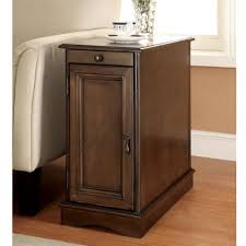 Power Chairside End Table Furniture Of America Terra Multi Storage Side Table With Power