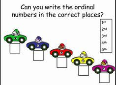 multiple games for teaching ordinal numbers all things