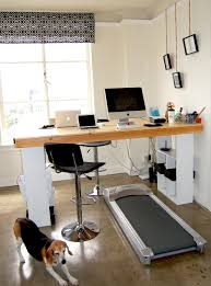 Diy Treadmill Desk Home Office Diy Treadmill Desk Healthier Working With Diy