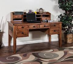 writing table with hutch sunny designs sedona rustic oak computer desk and hutch walker s