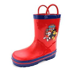 patrol kids rain boots