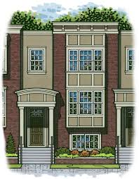 row home plans floor plans northgate rowhomes kansas city
