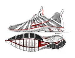 design exposed concept renderings and sketches for nike