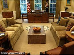 oval office decor oval office makeover widely criticized cnn political ticker