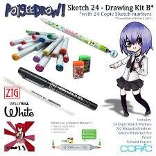 paigeedraw new paigeedraw copic sketch markers drawing set b