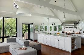 new york black and white kitchen decor farmhouse with vaulted