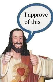 Buddy Christ Meme - buddy christ image gallery sorted by oldest know your meme