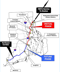 Map Of Ri Mbta Ri Owes 6m For South County Train Losses Wpri 12