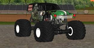 original grave digger monster truck sim monsters