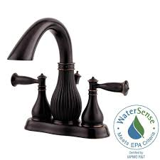 Centerset Faucet Definition by Pfister Virtue 4 In Centerset 2 Handle Bathroom Faucet In Tuscan