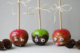 polymer clay home decor candy apple home decor caramel apple decor polymer clay