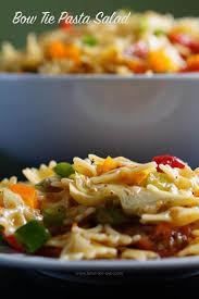 bow tie pasta salad recipe bowl me over