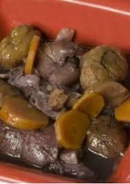 cuisiner des pieds de cochon ragoût de pieds de cochon aux châtaignes