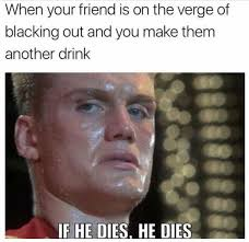 Find Memes Online - ivan drago meme if he dies he dies things i find funny pinterest