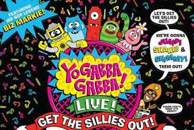 yo gabba gabba live sillies official website