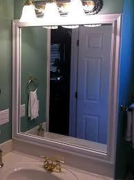 Bathroom Mirror Frames by Bathroom Mirror Frames Bathroom Mirror Crown Molding Mirrors