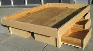 Log Queen Bed Frame Storage Queen Bed Frame Gatlin Storage Queen Platform Bed Created