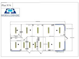 plan cuisine restaurant normes modulobase construction modulaire préfabriquée