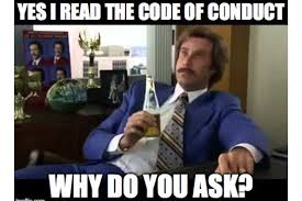 Code Meme - friday meme code of conduct resonate pictures