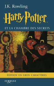 harry potter et la chambre des secrets livre audio editions feryane livres en gros caractères