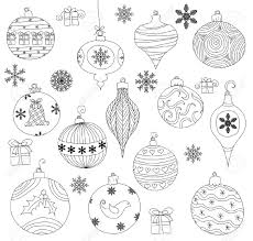picture collection free christmas ornament vector all can
