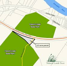 French Creek State Park Map by Pa Environment Daily Natural Lands Trust Buys Land To Connect