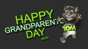 happy grandparents day 2015 wish by talking tom gifts for